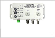 Evertz L-Band Switch 2406 Outdoor Fiber Receiver